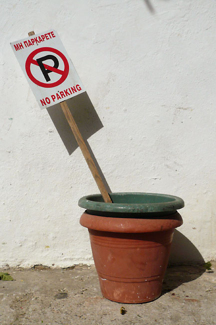 No parking pots