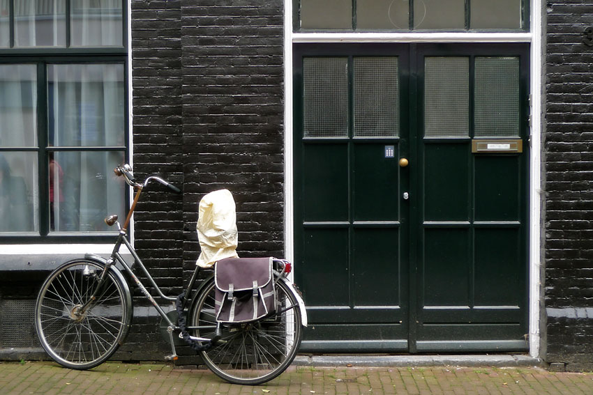 Bike with bags