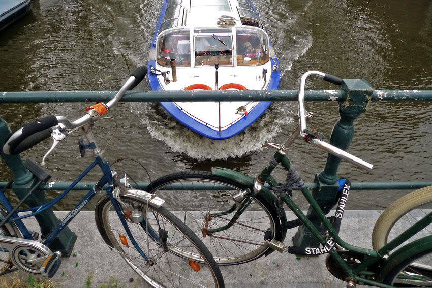 Bikes and boat