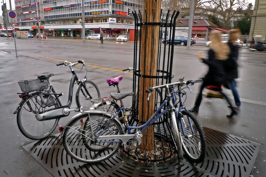 Bikes in Bubenberg Square