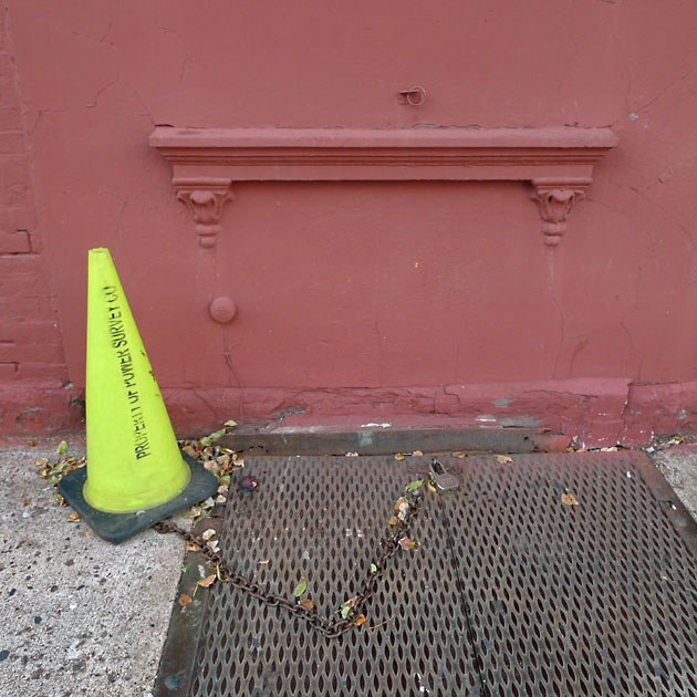 Yellow chained cone