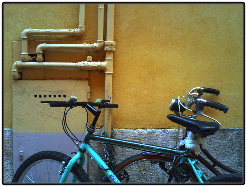 Bikes and pipes