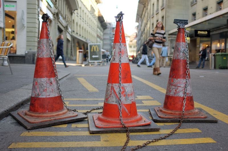 Three cones