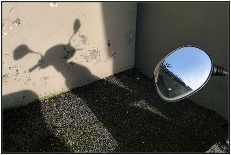 Shadow and mirror