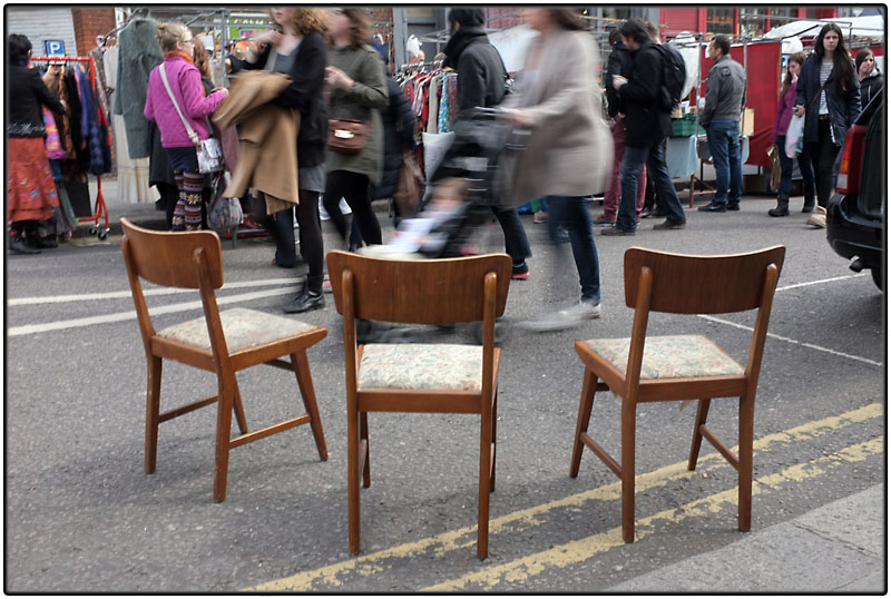 Three chairs