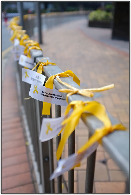 Yellow ribbons ...