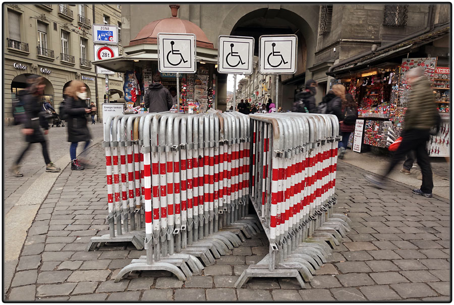 Barriers for the disabled